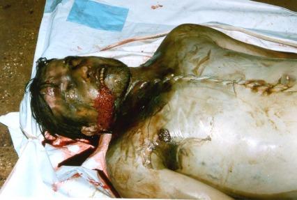 THE VICTIMS OF GRACKO MASSACRE