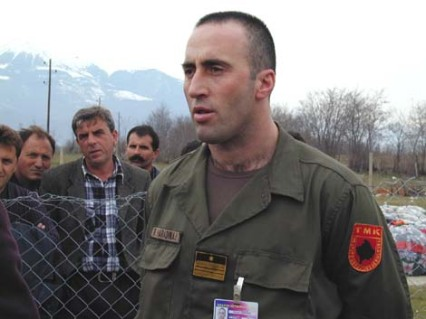 Islamist Nazi KLA commander and mass murderer, Ramush Haradinaj