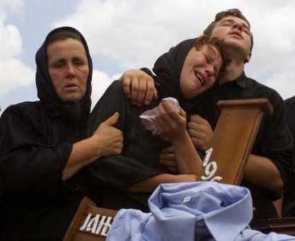 Serbian Funeral in Gracko, Kosovo