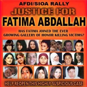 Fatima rally poster